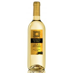 Espiritu de Chile Sauvignon Blanc Semi Sweet 12% 75cl