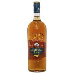 Old Captain Caribbean Dark 37,5% 100cl