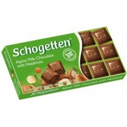 Schogetten with Hazelnuts 100g