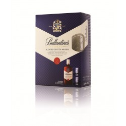 Ballantines Finest + 2 Shot Classes 40% 70cl