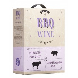 BBQ Wine Cabernet Sauvignon 12% 300cl