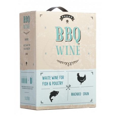 BBQ Wine Macabeo 10,5% 300cl
