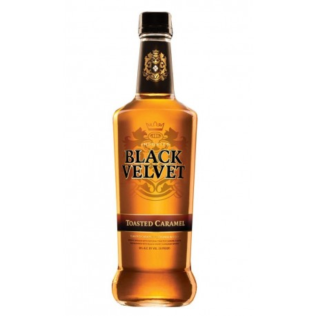 Black Velvet Toasted Caramel 35% 70cl