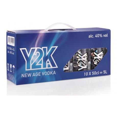 Y2K Premium Vodka 40% 10x50cl PET