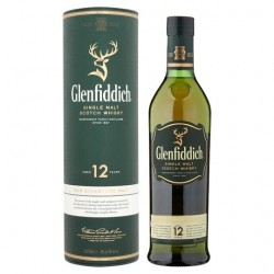 Glenfiddich Single Malt 12YO 40% 70cl