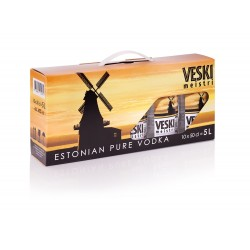 Veski Meistri Vodka 40% 10x50cl PET