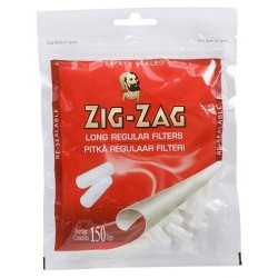 Zig-Zag Long Regular Filters 150pcs