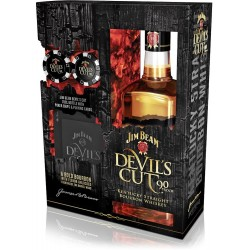 Jim Beam Devils Cut + Poker Set 45% 70cl