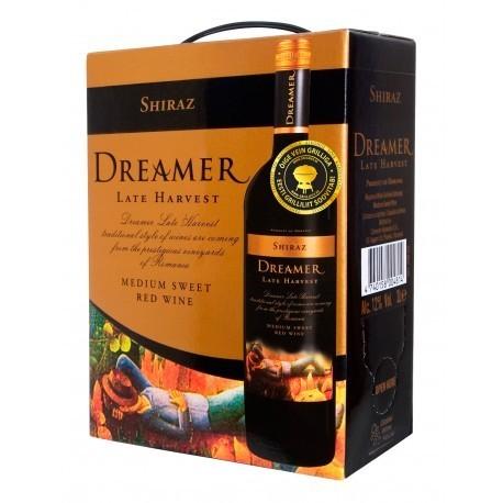 Dreamer Late Harvest Shiraz Medium Sweet 12,5% 300cl