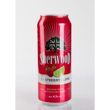 Sherwood Raspberry&Lime 4,5% 24x50cl