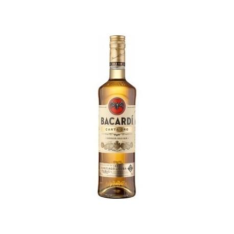 Bacardi Carta Oro 37,5% 100cl
