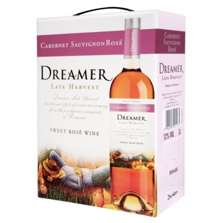 Dreamer Medium Sweet Cabernet Sauvignon Rose 12% 300cl