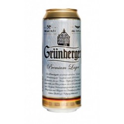 Grünberger Premium Lager 5% 24x50cl