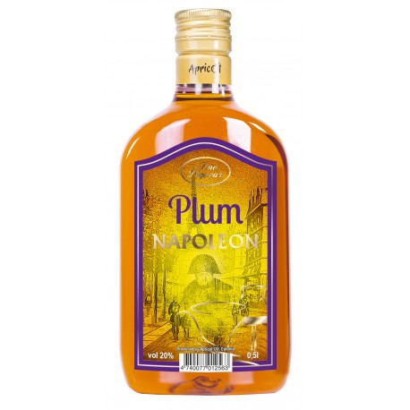 Apricot Plum Napoleon 20% 50cl PET