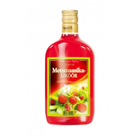 Apricot Wild Strawberry Liqueur 18% 50cl PET
