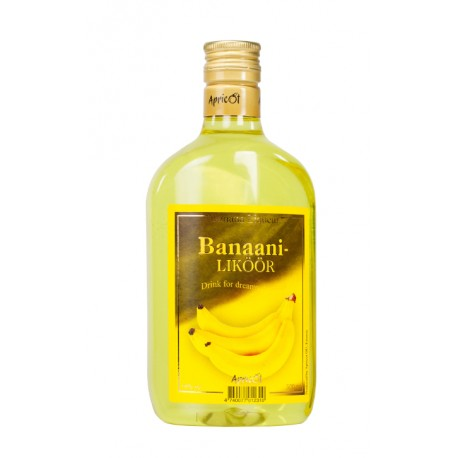 Apricot Banana Liqueur 18% 50cl PET