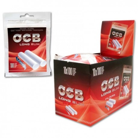 OCB Long Slim Filters 10x100pcs