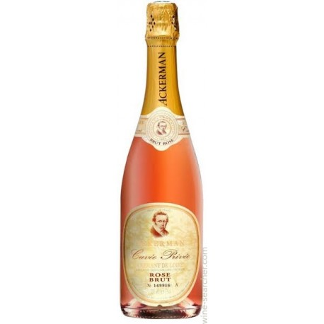Ackerman Cuvee Brut Rose 11% 75cl