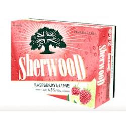 Sherwood Raspberry&Lime 4,5% 24x33cl