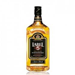 Label 5 Blended Scotch 40% 100cl