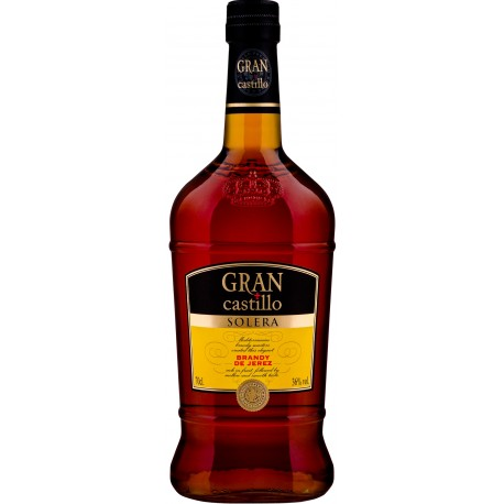 Gran Castillo Solera Brandy 36% 70cl