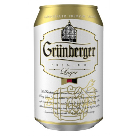 Grünberger Premium Lager 5% 24x33cl