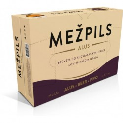 Mezpils 5,3% 24x33cl