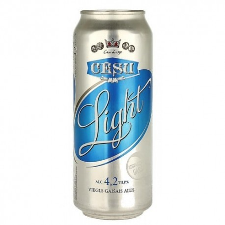 Cesu Light 4,2% 24x50cl