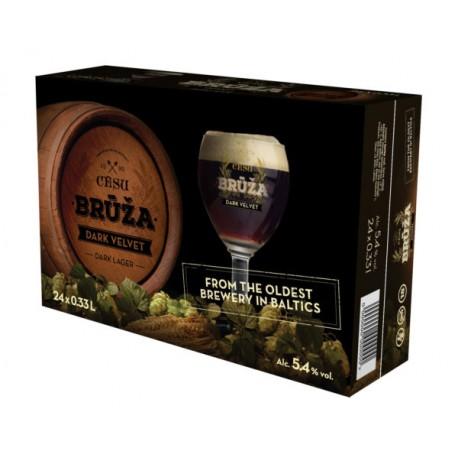 Cesu Bruza Dark 4,5% 24x33cl