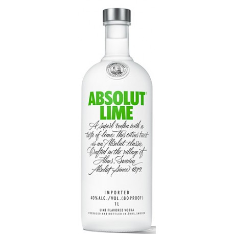 Absolut Lime 40% 70cl