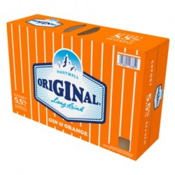 Hartwall Original Long Drink Orange 5,5% 24x33cl