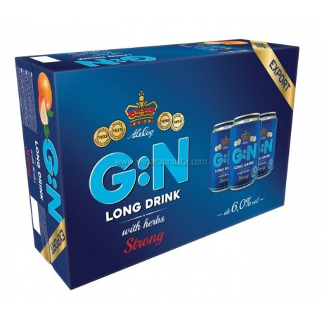 G:N Grapefruit Strong 6% 24x33cl