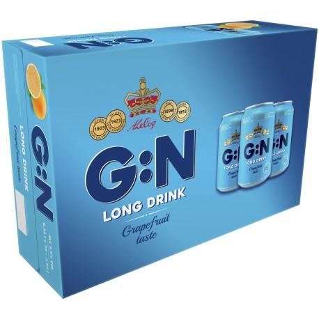 G:N Long Drink Grapefruit 5,5%