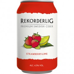 Rekorderlig Strawberry-Lime 4,5% 24x33cl