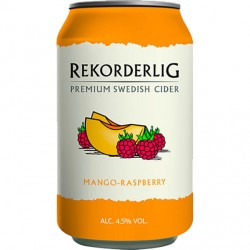 Recordable Mango-Raspberry 4.5% 24x33cl