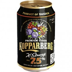 Kopparberg Wildberries 7,5% 24x33cl