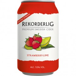 Rekorderlig Strawberry-Lime 7% 24x33cl GER