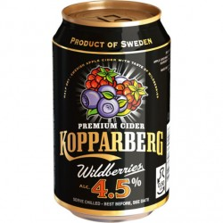 Kopparberg Wildberries 4,5% 24x33cl GER