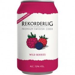 Rekorderlig Wild Berries 7% 24x33cl GER