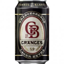 Grängesbergs Lager-Extra 5,9% 24x33cl GER