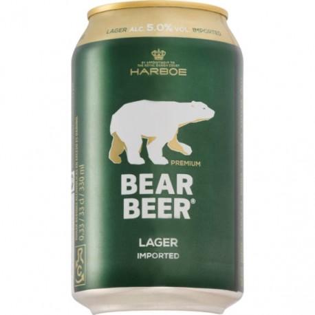Harboe Bear Beer 5% 24x33cl GER