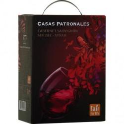 Casas Patronales Carmenere Cab./Sauv. Syrah 13,5% 300cl GER
