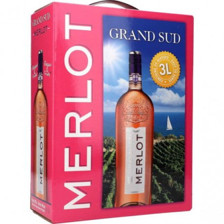 Grand Sud Merlot Rosé 12,5% 300cl GER