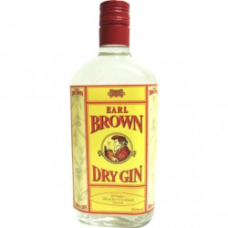 Earl Brown Dry Gin 37,5% 100cl GER