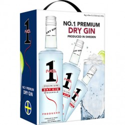 No. 1 Premium Dry Gin 37,5% 300cl GER