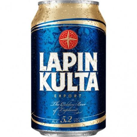 Lapin Kulta Export 5,2% 24x33cl 90x GER
