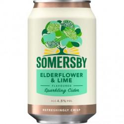 Somersby Elderflower Lime 4,5% 24x33cl GER