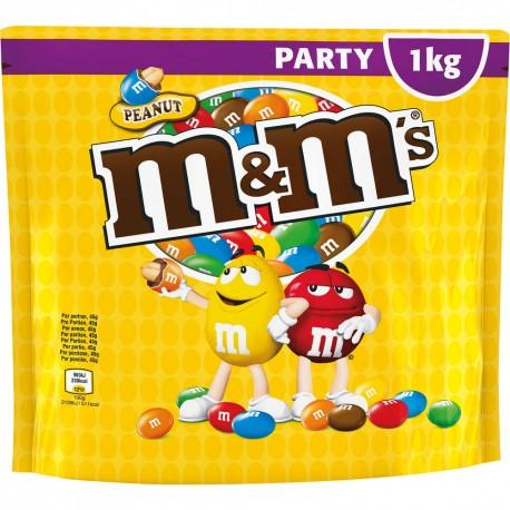 M & M's Peanut Party-Pack 1kg GER