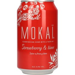 Cult Mokaï Strawberry & Lime 4,5% 18x0,33l GER
