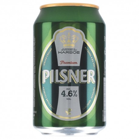 Harboe Pilsner 4,6% 24x0,33l